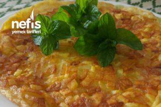 Kahvaltıya Patatesli Omlet Tarifi