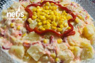 Patatesli Köz Biberli Salata Tarifi