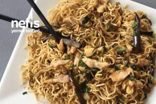 Soya Soslu Makarna (Noodle) Tarifi