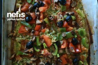 Brokoli Tabanlı Pizza Tarifi