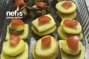 İslim Kebabı-Fırında Köfteli Patates Oturtma Tarifi