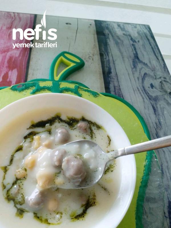 Misket Köfteli Yoğurtlu Çorba(iftarlık Çorba)