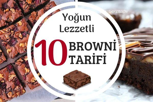 Ev Yapımı 10 Orijinal Brownie Tarifi