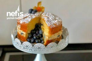 Meyveli Bulut Pasta (Evdeki Malzemelerle 2 Saatte Hazır) Tarifi