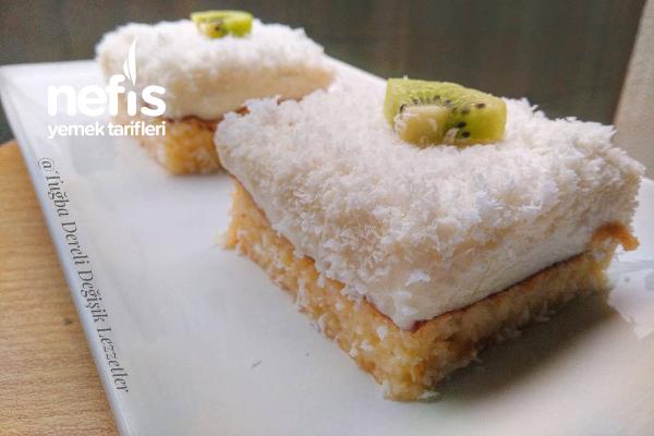Muhteşem Gelin Pastası (Çok Hafif) Tarifi