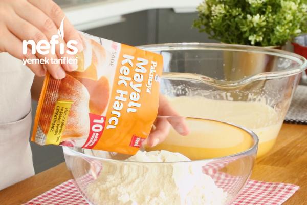 Pakmaya Mayalı Kek Tarifi
