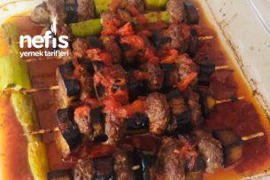 Patlıcanlı Çöp Şiş Kebabı Tarifi