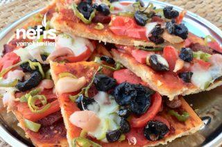 Pizza Ev Yapımı Tarifi