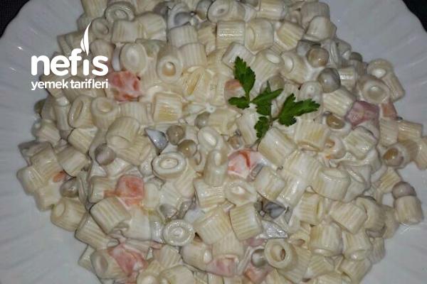 Şahane Makarna Salatası Tarifim (Günleriniz İçin Harika Bir Tarif)