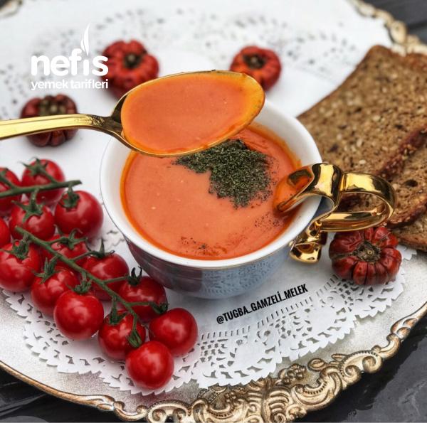 Sütlü Domates Çorbası ENFES LEZZETTE