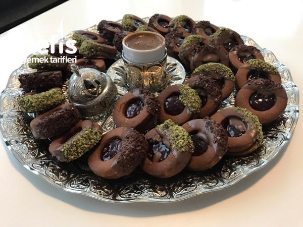 cikolatali alman kurabiyesi (vidrolu)