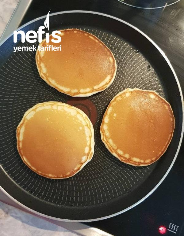 Pofuduk Mu Pofuduk Pancake (orijinal Amerikan Tarifi)