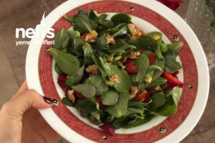 Semizotu Salatası (Yoğurtsuz) Tarifi