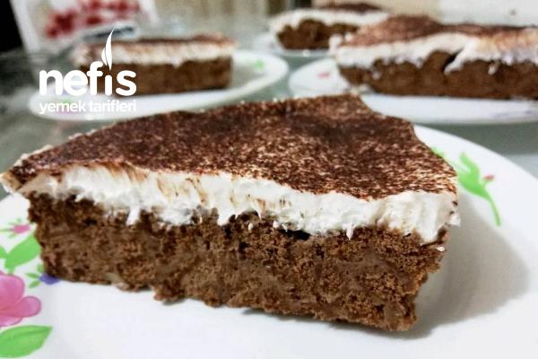 3 Malzemeli Soğuk Pasta Tarifi