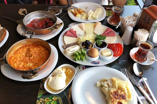 istanbul anadolu yakası kahvaltı