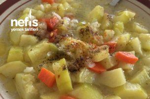Havuçlu Patatesli Kabak Yemeği (Az Kalorili) Tarifi