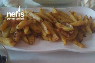 Kahvaltıya Veya Yemeklerin Yanına Nefis Sağlıklı Patates (Tavada) Tarifi