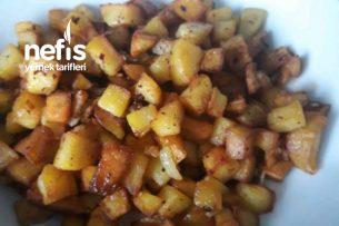 Kare Patates Alman Usulü (Bratkartoffeln) Tarifi