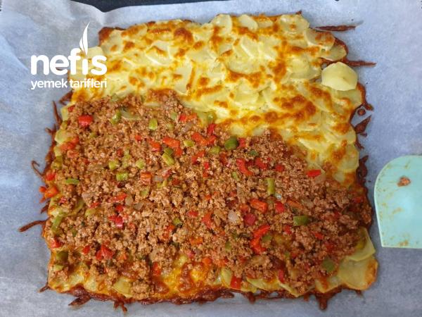 Misafir Sofralarina Yakisacak Patates Yemegi