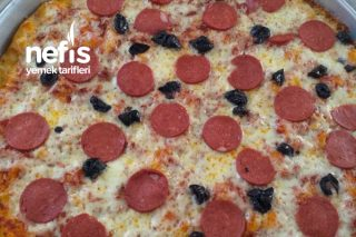 Nefis Ev Pizzası Tarifi