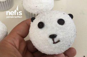 Panda Şekilli Cupcek ( Videolu ) Tarifi