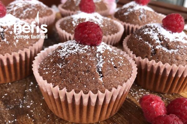Sünger Gibi Kakaolu Muffin Tarifi
