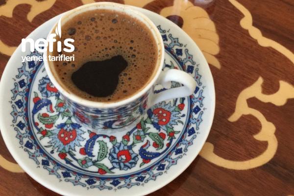 Türk Kahvesi (Tam Ölçü) Tarifi
