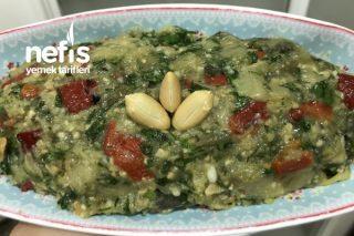 Yer Fıstıklı Köz Patlıcan Salatası (Nefis) Tarifi