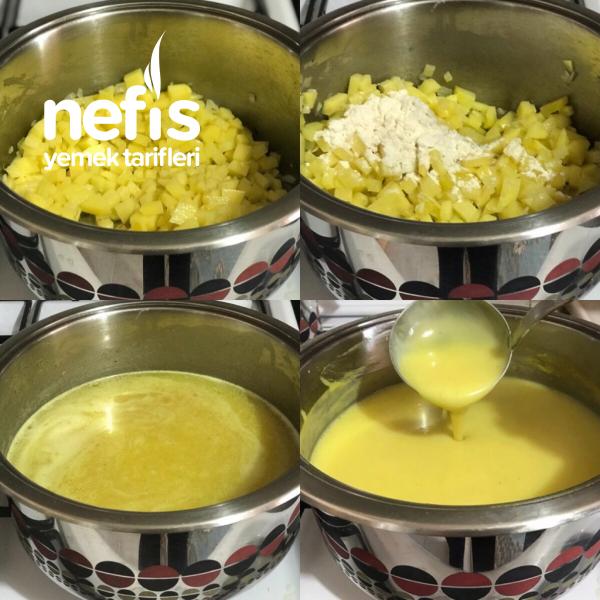 Zerdeçallı Patates Çorbası