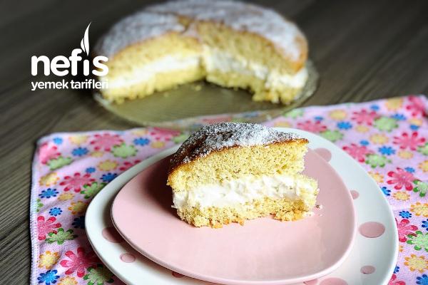 Alman Pastası (Teremyağlı Kremalı) Tarifi
