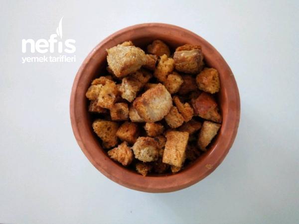 Baharatlı Kıtır Ekmek(kruton) Yapımı