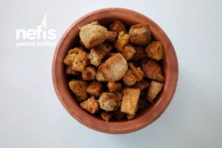Baharatlı Kıtır Ekmek (Kruton) Yapımı Tarifi
