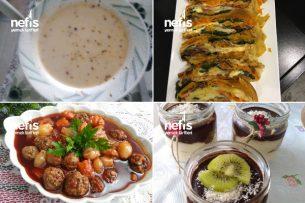 İftara  Misafir Varsa Teremyağlı  Yemekler Tarifi