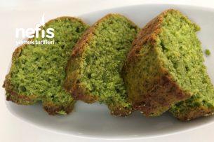 Ispanaklı Kek (Yeşilmi Yeşil) Tarifi