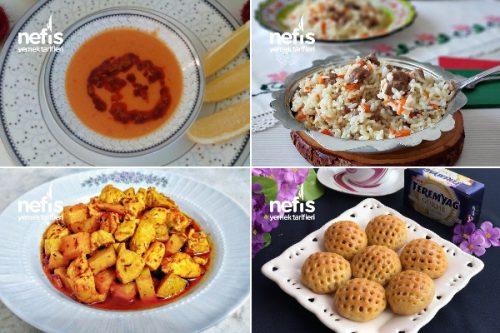 Lezzetli Ramazan Menüsü Tarifi
