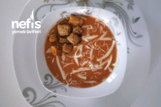 Teremyağlı Domates Çorbası Tarifi