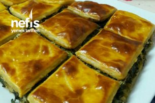 El Açması Ispanaklı Peynirli Börek Tarifi