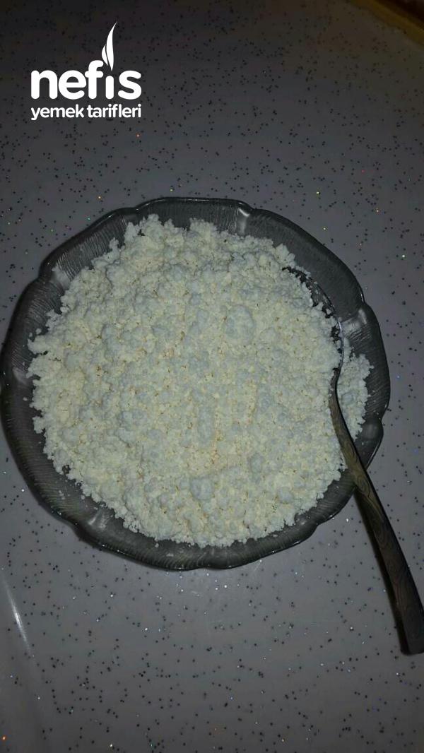 Evde Taze Peynir(süt Ekşisi)