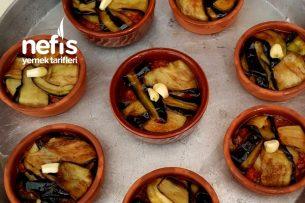 Güveçde Porsiyonluk Patlıcan Kapama Tarifi