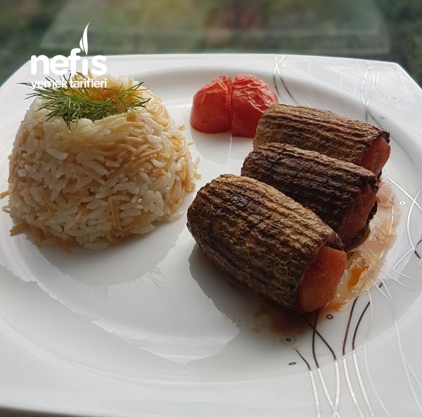 Kabak Oturtma ( Nefis Gaziantep Yemeği)