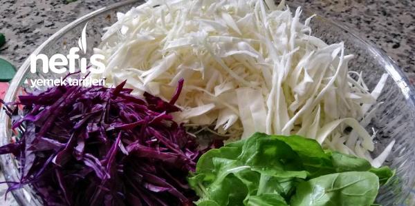 Lahana Salatası (Harika Bir Lezzet)