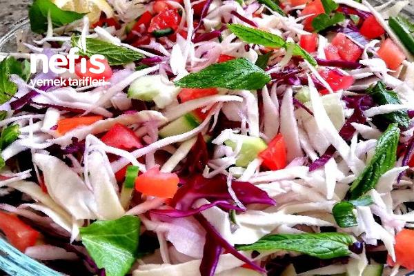 Lahana Salatası (Harika Bir Lezzet) Tarifi