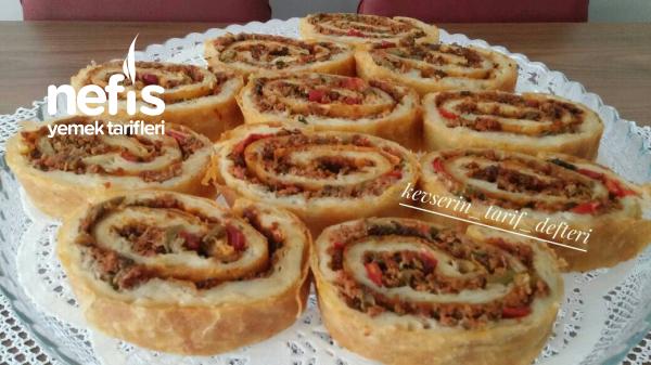 Lahmacun Böreği (Muhteşem Lezzet)