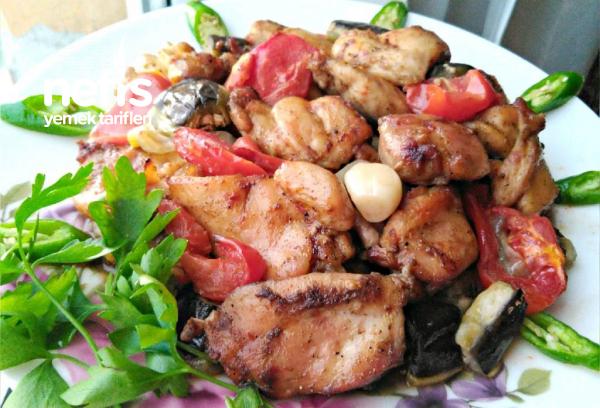 Nefis Sebzeli Tavuk Kebabı(Parmak Yedirten Cinsten)