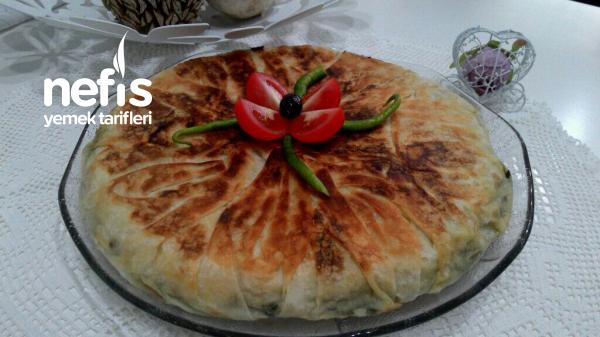 Sahura Ispanaklı Tava Böreği