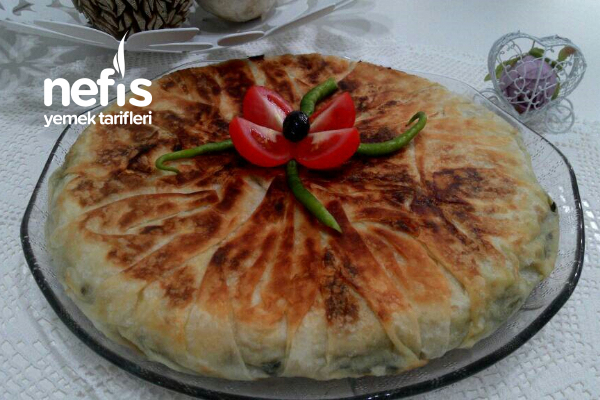 Sahura Ispanaklı Tava Böreği Tarifi