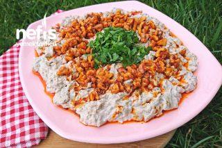 Tahinli Köz Patlıcan Salatası Tarifi