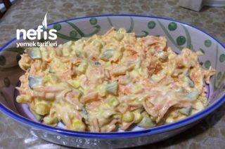 Turşulu Havuç Salatası Tarifi