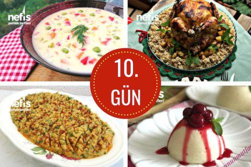 10. gün iftar menüsü