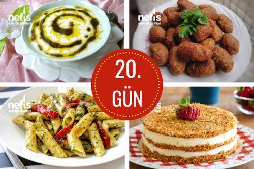 20. gün iftar menüsü
